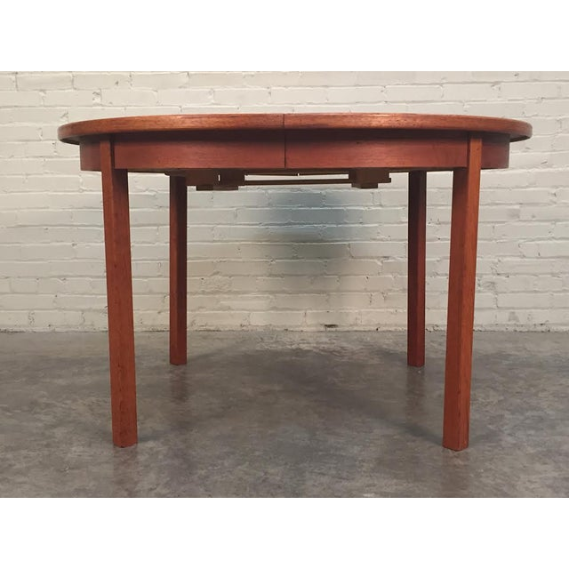 G Plan Fresco Mid Century Danish Modern Teak Dining Table Chairish