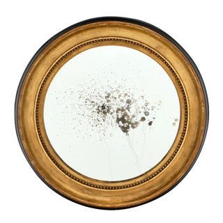 Louis XVI Period French Round Mirror For Sale