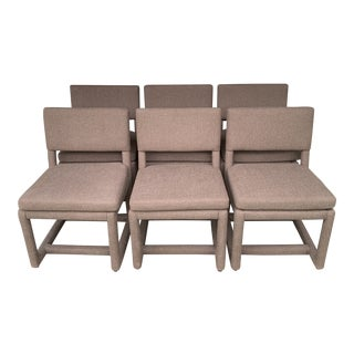 Milo Baughman for Thayer Coggin Dining Chairs - Set of 6 For Sale