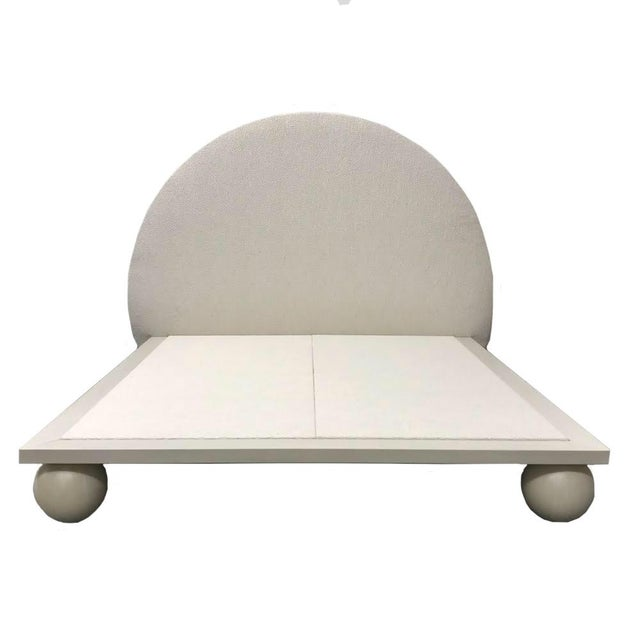Jp Upholstery Cleo King Bed For Sale In New York - Image 6 of 6
