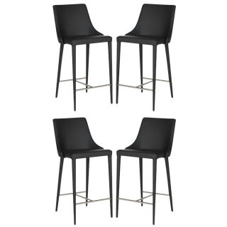 Modern Safavieh Summerset Counter Stools- Set of 4 For Sale