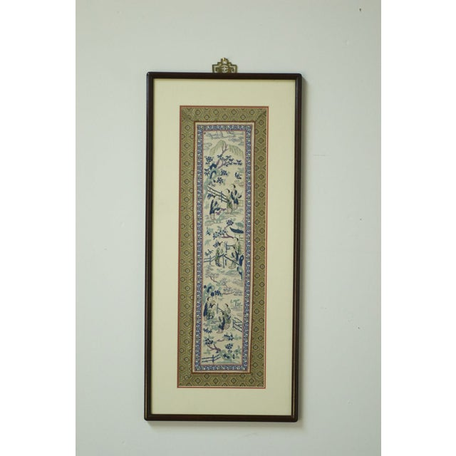 19th Century Chinese Embroidery Panel - Image 2 of 8