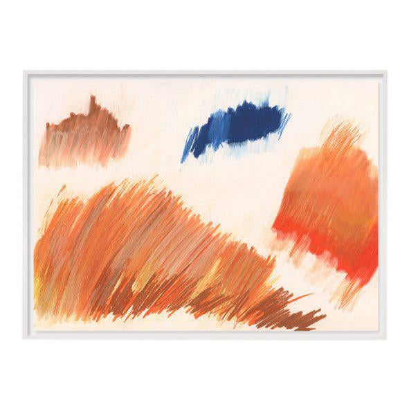 """""""Color Falls (Diptych #1)"""" Unframed Print For Sale"""