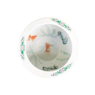 """Famille Noire Porcelain Jardinière/ Fish Bowl 14"""" W by 10.25"""" H Preview"""