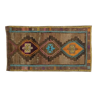 Vintage Turkish Oushak Rug - 6′2″ × 11′4″