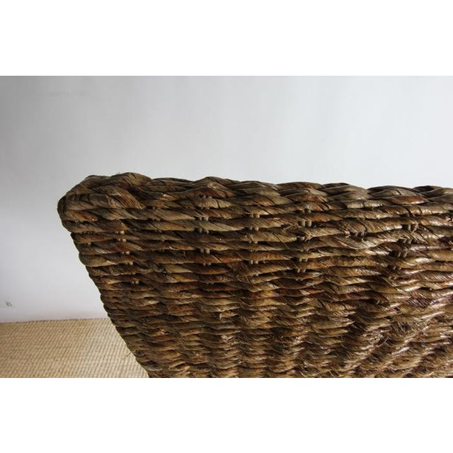 Rattan Dining Chairs - Pair - Image 7 of 8
