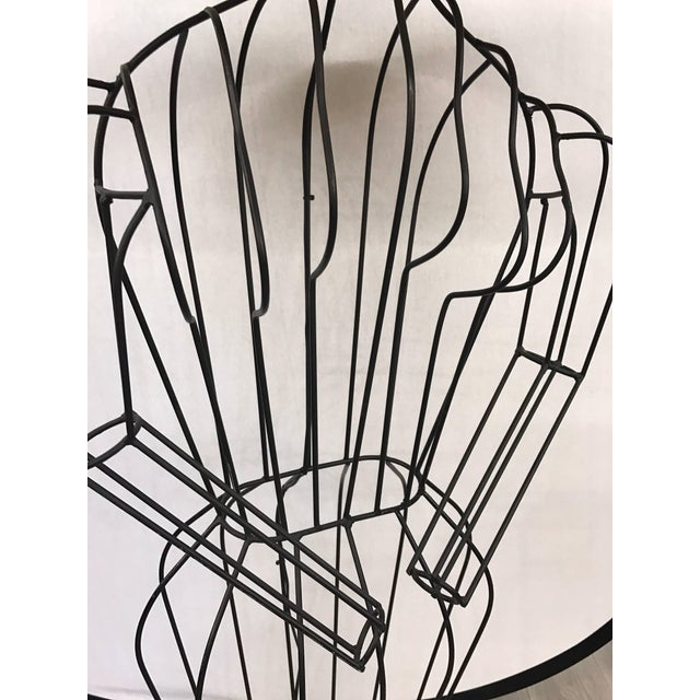 2000 - 2009 Michele Rizzi Figural Wire Sculpture Dress Form Art Made in Italy For Sale - Image 5 of 6