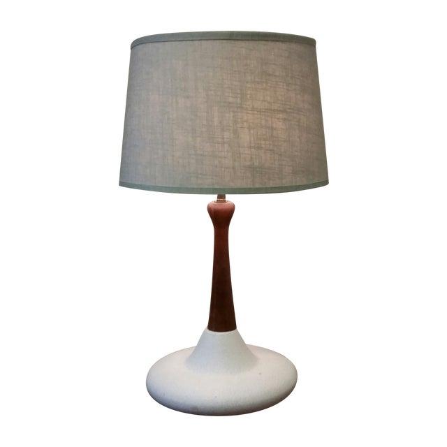 Mid-Century Ceramic Table Lamp - Image 1 of 3