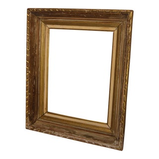 Antique French Chateau Pine Frame For Sale