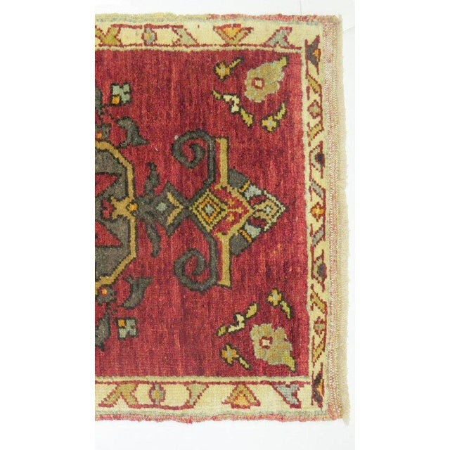 Islamic Vintage Turkish Rug 1'11'' x 3' For Sale - Image 3 of 3