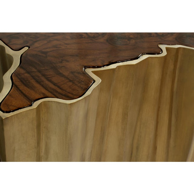 Modern Sequoia Big Side Table From Covet Paris For Sale - Image 3 of 7