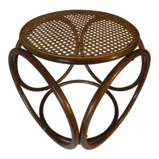 1970s Michael Thonet Secessionist-Style Low Stool For Sale