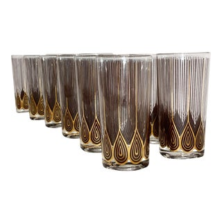 Vintage George Briard Highball Glasses- Set of 12 For Sale