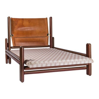"""Toledo"" Bed by Carlo Scarpa by Simon Gavina For Sale"