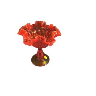 Fenton Ruby Red Vase For Sale