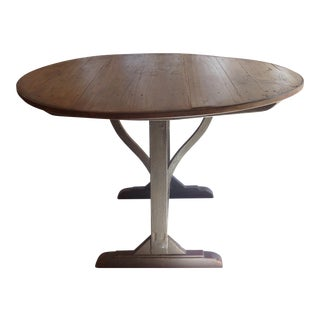 19th C. French Country Wine Tasting Table