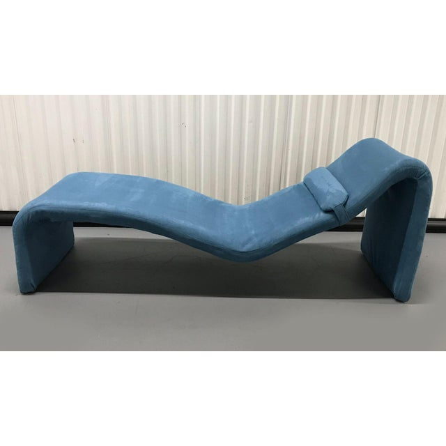 Metal Vintage Djinn Chaise by Olivier Mourgue for Airborne For Sale - Image 7 of 11