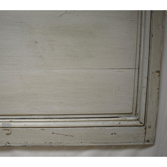 19th Century French Pine Queen Size Headboard For Sale In Washington DC - Image 6 of 8