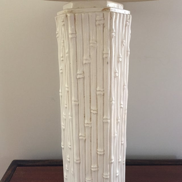 Faux Bamboo Table Lamp - Image 3 of 3