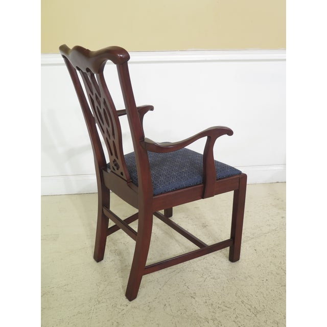 Modern Hickory Chair Co Chippendale Mahogany Dining Room ...