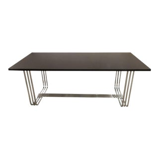 Ralph Lauren Ebonized Dining Table