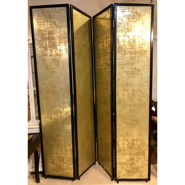 Superior Four Panel Double Sided Floor Screen or Room Divider ...