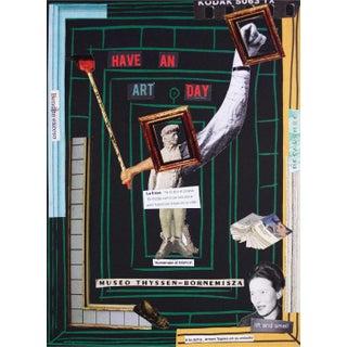 """Karl Nissan Von Norab Original """"Have an Art Day"""" Artwork For Sale"""