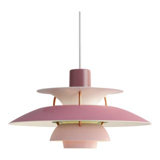 Poul Henningsen Rose PH5 Mini Pendants for Louis Poulsen