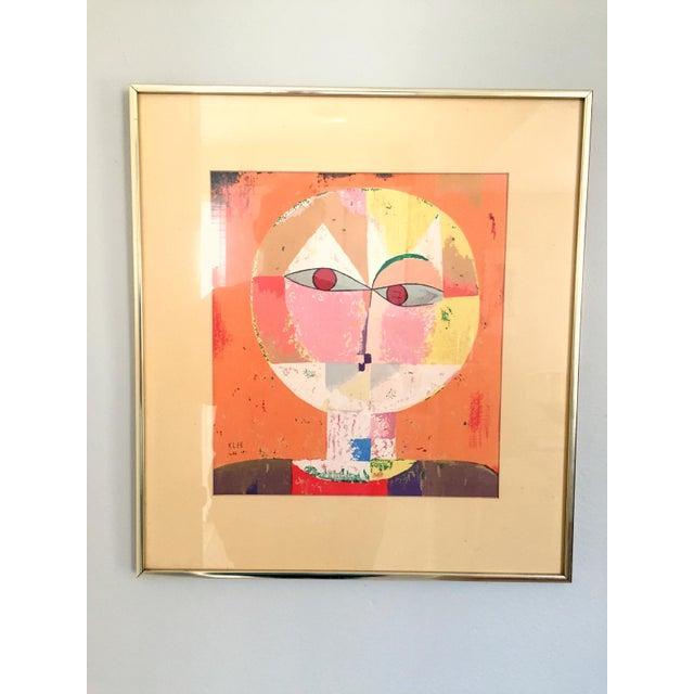Abstract Paul Klee Senecio Head of Man Framed Art Print For Sale - Image 3 of 9