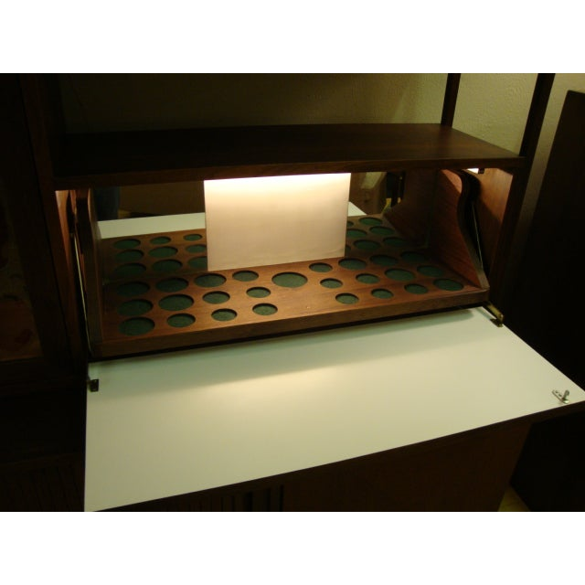 MCM Buffet & China Top With Drop Down Bar - Image 4 of 10