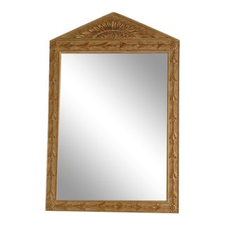 Turner Carved Wood Framed Mirror For Sale