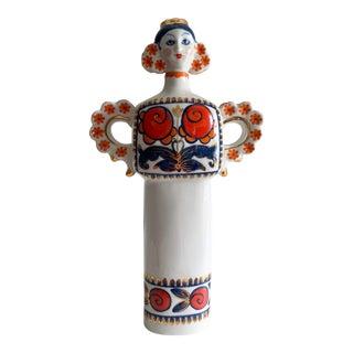 Mid-Century Korosten Ukrainian Porcelain Decanter For Sale