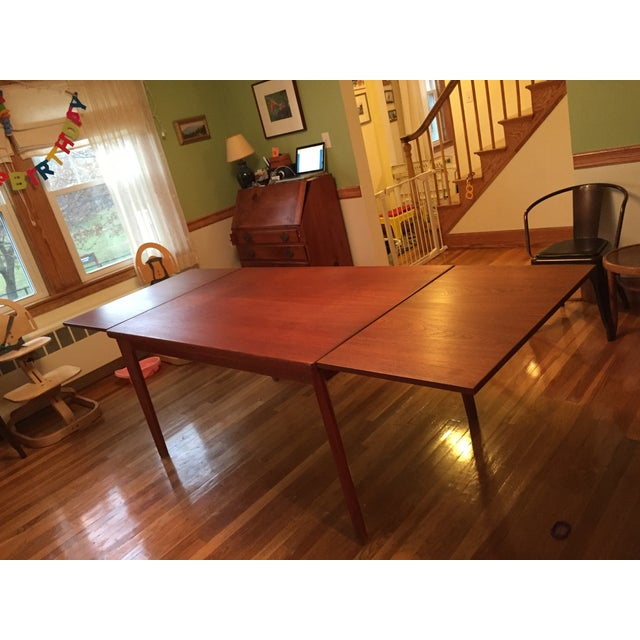 Extendable Teak Dining Table - Image 3 of 3