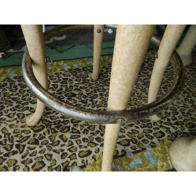 Marge Carson Elephant High Table & Stools - Set of 3 - Image 7 of 9