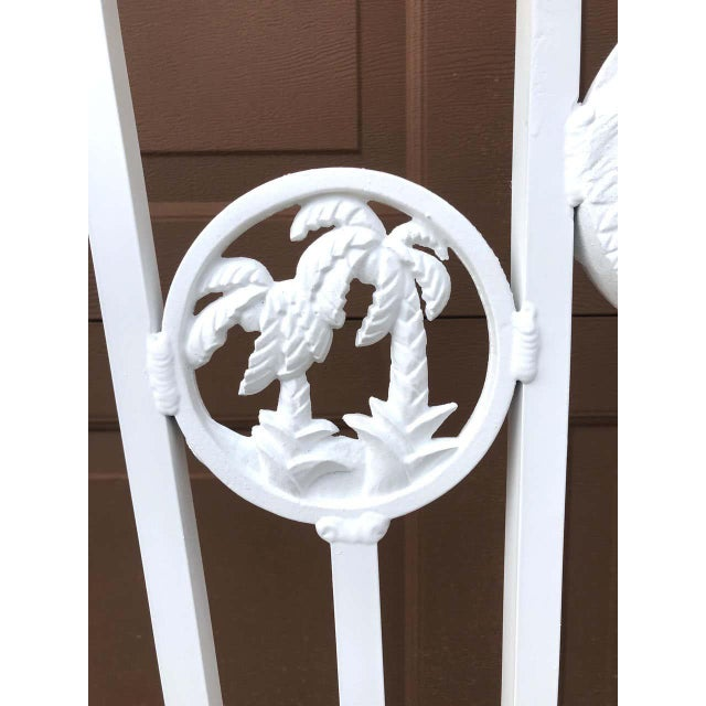 Presidential Wrought Iron Firescreen, Truman Little White House, Key West, Fl For Sale - Image 9 of 12