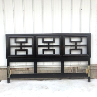 Vintage Chinoiserie Style King Size Headboard Preview