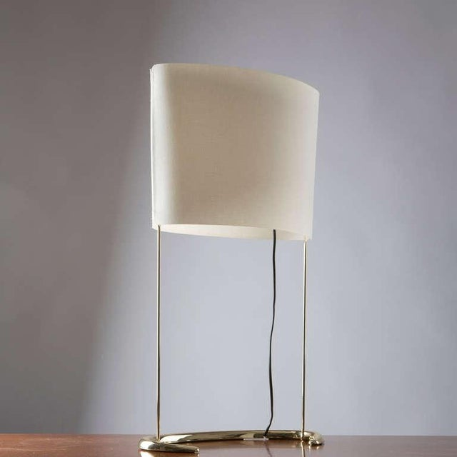 """Arteluce """"Gala"""" Table Lamp by Paolo Rizzatto for Arteluce For Sale - Image 4 of 9"""