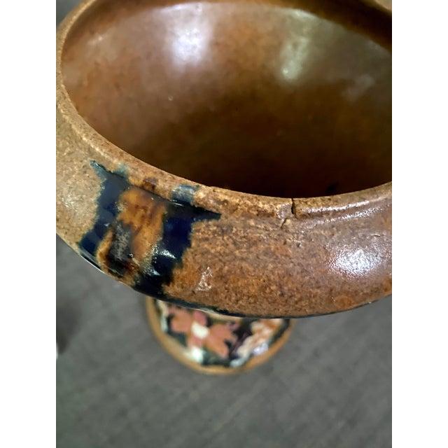 Clay 1920s Carl Gebauer Secession Era Vase For Sale - Image 7 of 9