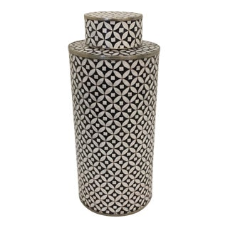 Tall Contemporary Cloisonné Jar