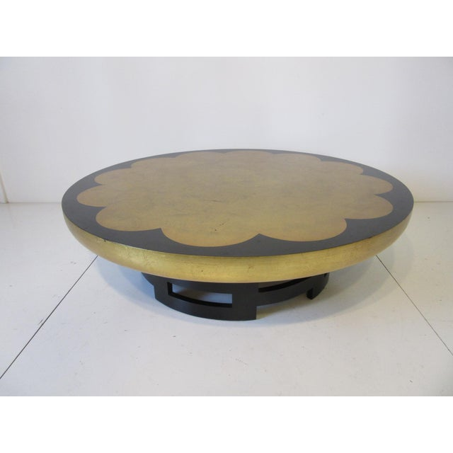 Kittinger Asian Regency Styled Lotus Coffee Table For Sale - Image 9 of 9