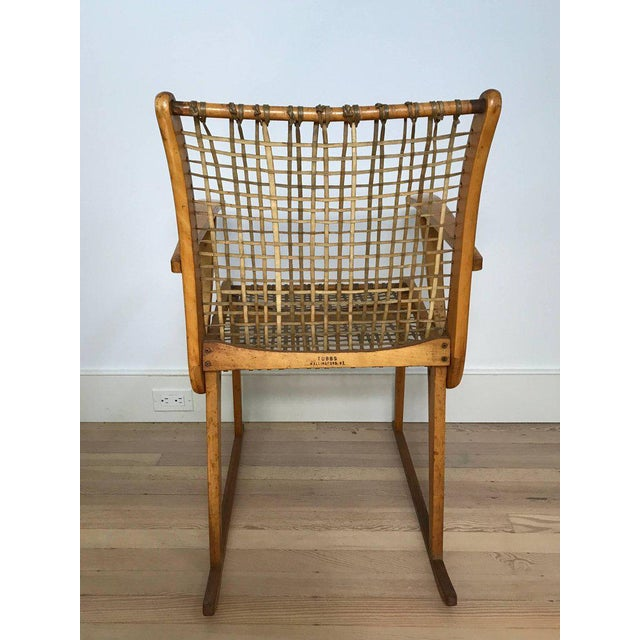 Vermont Tubbs Wood Armchairs - A Pair For Sale - Image 5 of 7