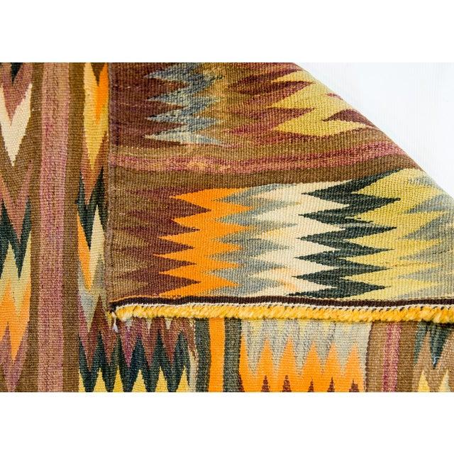Textile Wonderful Early 20th Century Antique Baluchi Kilim Rug For Sale - Image 7 of 8