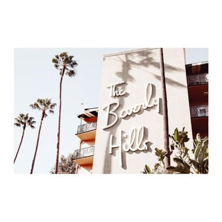 """The Beverly Hills"" Original Framed Photograph"