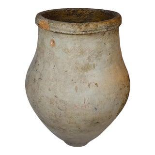 Antique Moroccan Olive Pot For Sale