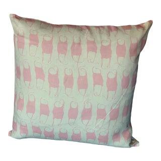Design No. Five Mermaid's Purse Pillow For Sale
