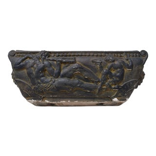 1980s Monumental Neoclassical Style Planter For Sale