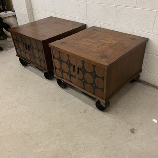 Lane Mid Century Spanish Style End Tables Preview