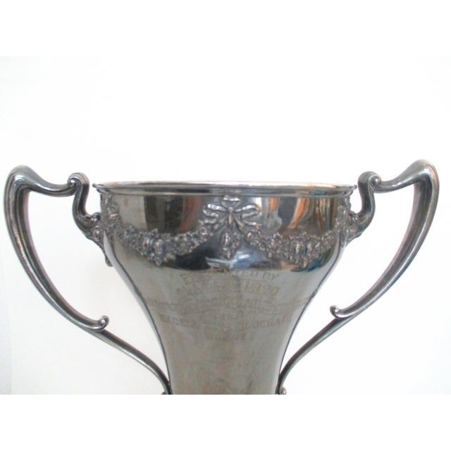 Antique 1920 Theology Debate Loving Cup Trophy - Image 3 of 7