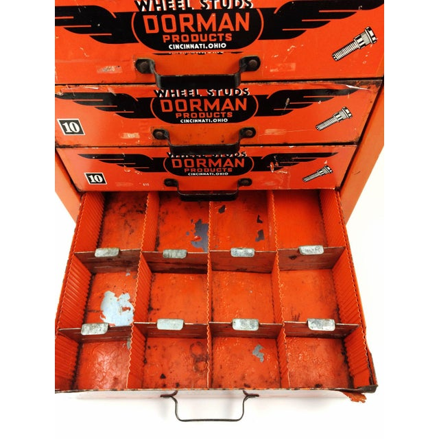 Industrial Dorman Products Bin Drawer Cabinet For Sale - Image 4 of 10