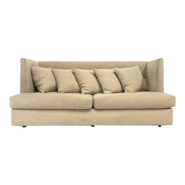 Milo Baughman Shelter Sofa - Excellent For Sale